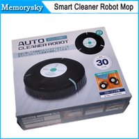 auto sweep - New Random Smart Cleaner Robot Mop Automatic Dust Cleaner AUTO CLEANER ROBOT Japan sweeping robot toy automatic sweep lazy supplies