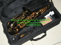 Wholesale HOT Black Nickel Alto Saxophone With Case High grade New Arrival