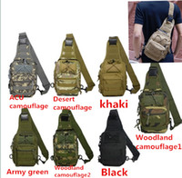 Duffel Bags backpacking rucksacks - Designer Backpacks Military Tactical One Shoulder Cool Bag Rucksack Backpacking For Adults Message Chest Bags Fancy Packs For Mens Women