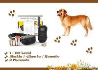 Wholesale For Dog M Remote Control Dog Training System LV Shock Vibra Remote Electric Dog Training Collar