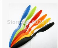 rc aircraft propeller - 4pcs plastic blades for RC quadcopter drone UFO Aircraft CW CCW propeller low shipping