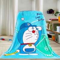 Wholesale 5 styles Baby Blankets children blankets cartoon kids blanket Frozen Winne Pooh kt mickey doraemon printed Blanket Free ship D229