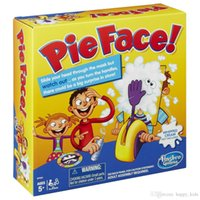 Wholesale Kids Pie Face Game Fun Filled Family Game of Suspense BOX Package Xmas Gift Toys