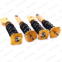 Wholesale Shock Absorber Suspension Strut Fit Mazda RX7 way Adj Damper Force Rear Front air Golden coilovers Car Styling UK DE shipping