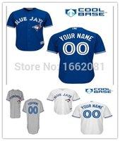 custom baseball jersey - 2016 New Custom Toronto Blue Jays Authentic Jersey Cool Orange Red Personalized Stitched Men s women s Baseball Jers
