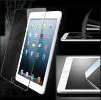 Wholesale Tempered Glass For Ipad Mini MM H Screen Protector For Tab4 IPAD Air Protector Film Treated Glass NO Package