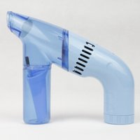 Wholesale Portable Handheld Electric Vacuum Cleaner for Car Household Blue