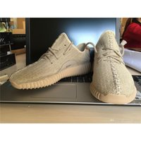 Wholesale Oxford Tan Quality Yeezy Boost Moonrock Running Shoes Pirate Black Sneakers Best Quality With Shoes Box