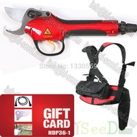 Wholesale Electrical secateurs pruning shears HDP36 working hours electric bypass pruner