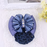 accessories industry - Xayakids Hairpin Airline stewardess service industry workers headdress hairpin hair bow hairclip Yiwu handmade accessories Baby Headband