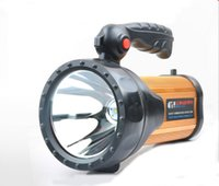 Wholesale 30W Super Bright Portable Spotlight Powerful Torch light Far striker Seacrchlight for Home maintenance Outdoor activities