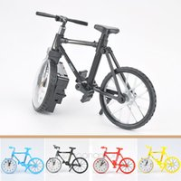 Wholesale 2015 New Creative Retro Vintage Bicycle Bike Style Decoration Alarm Clock for Living Room Bedroom Gift Childen Kids FYJJ141