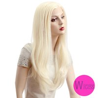 Wholesale New Style Fashion Loving Wigiss long blonde staight lace front women wig HAIR H9282Z
