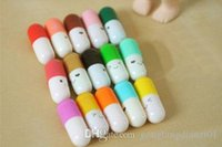 Wholesale Cute Message Capsule Letter Cute Love Message in a Bottle Color Pill