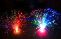 Wholesale 12pcs Novetly Flashing LED Fiber Optic Light Lamp flower tree LED Light christmas halloween light festival party supplies decorations