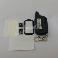 Wholesale 2014 New A91 Starline A91 Case keychain Lcd two way car alarm system new remote control M17144