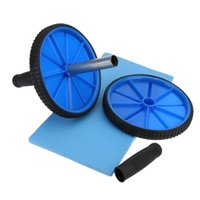 Wholesale New Abdominal Wheel Fitness Workout Exercise Ab Roller with Mat for Exercise Fitness Equipment