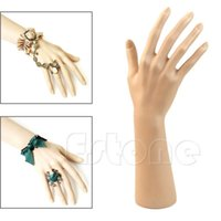 art mannequins - Y107 Pc Nail Art Fake Model Watch Ring Bracelet Gloves Stand Display Mannequin Hand