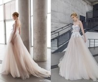 autumn ethereal - New Arrival Dreamy Ethereal Mira Zwillinger Stardust Bridal Collection Wedding Dresses Tulle Applique Lace Wedding Dress Bridal Gown