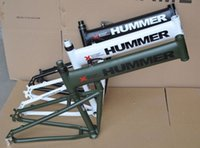 aluminium fibre - quot x18 quot inch aluminium hummer folding mountain bicycle frame