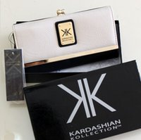 bank check design - high quality Kardashian kollection long design kk Purse women s wallets Clutch hitting buckle rivet wallet Bank cards handbag Storage bag