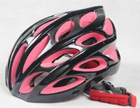Wholesale 2015 New Safety Warning Light Road Bike Bicycle Cycling Helmet Ultralight Skate EPS Helmet Sport Adjustable Mountain Bike