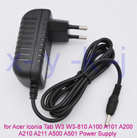 aspire switches - EU Plug12V A Tablet Charger for Acer Iconia Tab W3 W3 Aspire Switch A100 A101 A200 A210 A211 A500 A501 Power