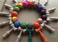 Wholesale kendama Balls new Funny Japanese Traditional Wood Toy pill kendama Game Kendama Ball Colors Toys Education Gift pro series kendama hot