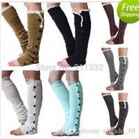 Cheap Fingerless Gloves christmas Best Cotton Woman Knitted Leg