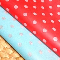Cheap 200 Polka Dots Sandwich Wrap Paper,21.8x25cm Burger Hot Dogs Food Wrapping Greaseproof Paper,Napkin Sheet Party BBQ TL-5043004