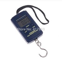 Cheap 1pcs 40kg x 20g Portable Mini Electronic Hanging Fishing Hook Pocket Weighing Digital Scale Drop Shipping Wholesale