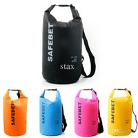 Wholesale 1x L L L PVC Fabric Material Outdoor Water Sports Bag Rafting Camping Waterproof Drift Bag Size Colors