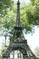 Wholesale 2015 New Vintage Eiffel tower model D Eiffel Tower model Alloy Eiffel Tower desk table office home wedding party decoration