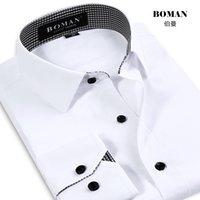 white dress shirt for men - formal long sleeve men solid dress shirt white businese professional men shirt work wear casual shirt for man