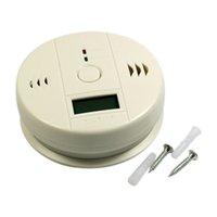 carbon monoxide detector - New Arrival Magic LCD screen Carbon Monoxide Detector and Carbon Monoxide Alarm CO Detector and CO Alarm Sensor white churchill