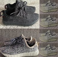 Wholesale Hot Sale Kanye West Yeezy Boost Men s and Women s Basketball Shoes Fashion Running Sneakers Size Euro