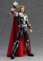 Wholesale New Arrival CM The Avengers Thor Figma PVC Action Figure Collectible Model Toy Joints Moveable Boxed