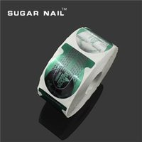 Wholesale Up Rolls Nail Tools Nail Art Guide Thick Nail Form Acrylic Tip Gel Extension Sticker Nail Polish Curl Form Nail Care Professional Holder