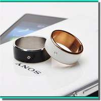 Wholesale Atention Super Hot Wearable smart NFC ring Chip waterproof smart ring For android smart phone windowsphone cellphone factory price post free