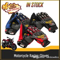 motorbike gloves - A Pair of Cycling Motorcycle Racing Full Finger L D New Motocross Gloves Outdoor Riding Biker Motorbike