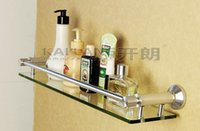 aluminum shower caddy - 85 series wall mounted space aluminum decorative single tier bathroom glass shelf wall shelves for storage shower caddy