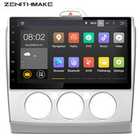 focus bluetooth gps - 4 Core HD Two Din Inch Car dvd gps Multimedia For FORD FOCUS With Wifi car stereo for focus