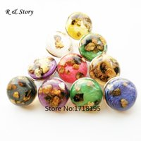Wholesale 18mm ginger snap button jewelry fit snap button bracelet Resin snap button with multicolor stone SB_304