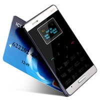 Wholesale 2014 AIEK M3 card mobile phone mini pocket students personality children phone the most thin card phone