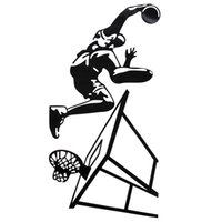 best living room designs - Modern Design Dunk Basketball Player Wall Decor Vinyl Decal Sticker Removable Art Sticker Home Bedroom Decor The Best Quality