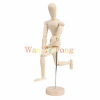 articulated mannequin - Wood quot Artist Drawing Manikin Articulated Mannequin w Base and Flexible Body