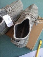 Wholesale With Box Yeezy Boost Moonrock New Color Kanye Milan West Yeezy Boost Tan with yeezy bag receipt size US5