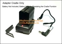 Wholesale 10pcs NP F570 F770 F970 NP F750 NP F550 NP F970 Battery Cradle Mount Plate Adapter for LCD Monitor LED Light