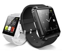 al por mayor los teléfonos de los niños reales-Teléfono Inteligente U8 Reloj Bluetooth del compañero de la muñeca real SmartWatch para el envío de Android iOS iPhone Samsung HTC libera