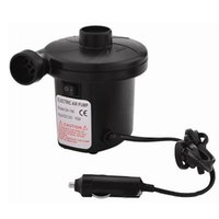 ac electric air pump - 12V PA AC Car Electric Air Pump For Camping Airbed Boat Toy Inflator Anne